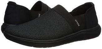 Crocs Reviva Slip-On (Black/Black) Women's Shoes