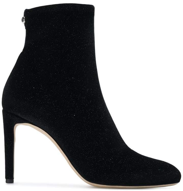 Giuseppe Zanotti Design glitter sock ankle boots