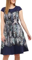 Studio 8 Marissa Floral Jersey Dress, Blue