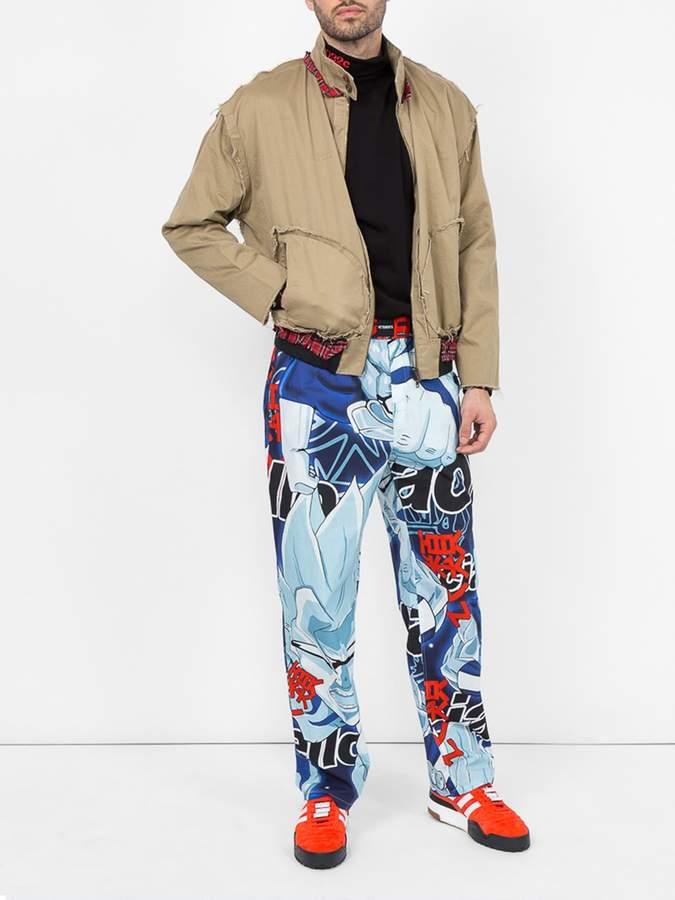 Vetements Inside out harrington jacket