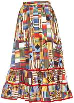 Stella Jean Mixed Print Skirt