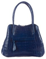 Nancy Gonzalez Glazed Crocodile Tote