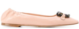 Rupert Sanderson Pinkette ballerinas