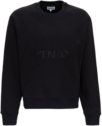Kenzo Tiger Embroidered Crewneck Sweatshirt