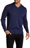 Tailorbyrd V-Neck Wool Sweater