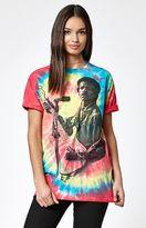 Bravado Jimi Hendrix Rainbow Tie-Dye T-Shirt