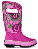 Bogs Kids' Pansies Waterproof Rain Boot Toddler/Pre/Grade School