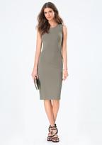 Bebe Sleeveless Bodycon Dress