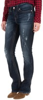 Seven7 Thick Stitch Jeans - Slim Fit, Bootcut (For Women)