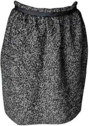 Claudie Pierlot Black Tweed Skirt for Women