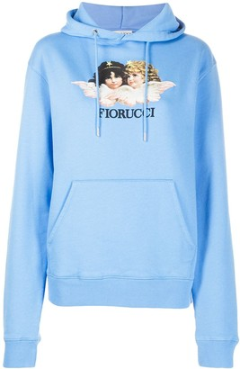 Fiorucci Angels cotton hoodie
