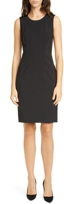 HUGO BOSS Dristie Sleeveless Classic Dress