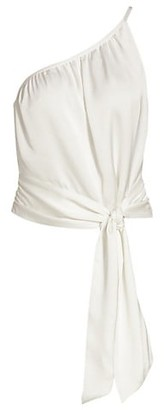 Ramy Brook Carmen Asymmetric Drape Tank Top