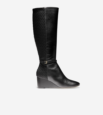 Cole Haan Lauralyn Stretch Wedge Boot (65mm)