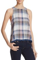 Bella Dahl Plaid Swing Tank