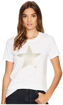 Converse Matte Sequin Star Short Sleeve Tee Women's T Shirt