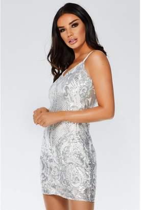 Quiz Sequin Dress - ShopStyle UK