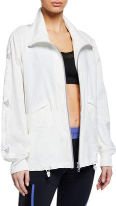 adidas by Stella McCartney Performance Essentials Zip-Front Logo Active Jacket