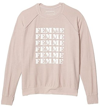 good hYOUman Mary Beth Femme Pullover (Rosewater) Women's Clothing