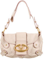 Valentino Leather Handle Bag
