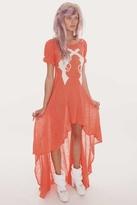 Wildfox Couture Annie Hankshaw Maxi Dress in Canyon Coral