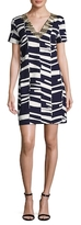 Trina Turk Annamarie Cotton Printed Flared Dress