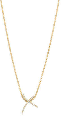 Stephen Webster Kiss Diamond Pendant Necklace in 18K Yellow Gold