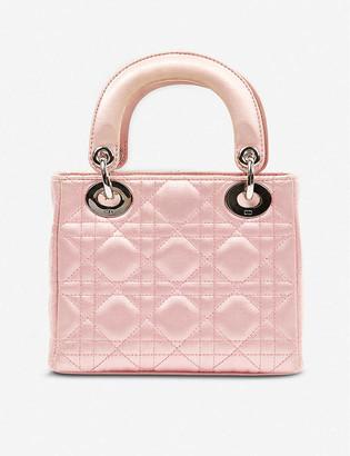 Vestiaire Collective Dior micro Lady Dior satin bag