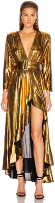 retrofete Wayne Dress in Gold | FWRD