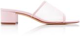 Maryam Nassir Zadeh Sophie Leather-Trimmed Mesh Sandals