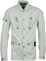 Ma.strum Merchant White Field Outershirt Jacket