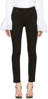 Dolce & Gabbana Black High-Waisted Skinny Jeans