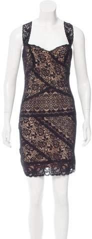 Nicole Miller Lace Mini Dress w/ Tags