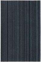Chilewich Skinny Stripe Shag Rug - Blue - 61x91cm