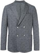 Roda peaked lapel double-breasted blazer