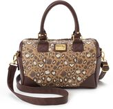 Hello Kitty Brown Convertible Satchel