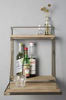 Anthropologie Fold-Down Bar Shelf