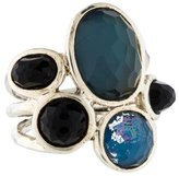 Ippolita Quartz Doublet & Onyx Cocktail Ring