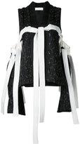 Juan Hernandez Daels - barroque vest - women - Linen/Flax - S