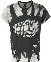 Ann Demeulemeester cobweb print T-shirt - men - Cotton - S