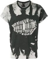 Ann Demeulemeester cobweb print T-shirt