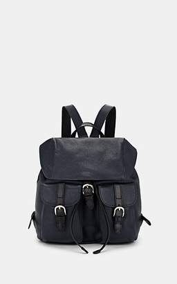 Barneys New York Women's Alce Leather Backpack - Navy