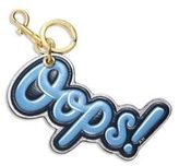 Anya Hindmarch Oops Leather Keychain