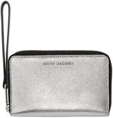 Marc Jacobs Silver & Black Wingman Wallet