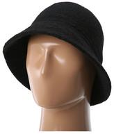 San Diego Hat Company WFH7894 Wool Pattern Brim Cloche