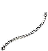 Eddie Borgo Small Pyramid Bracelet, Silver