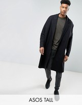 Asos TALL Extreme Oversized Extreme Longline Jersey Duster Jacket