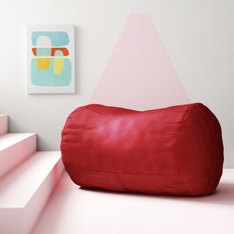 Large Bean Bag Chair & Lounger Hashtag Home Fabric: Red