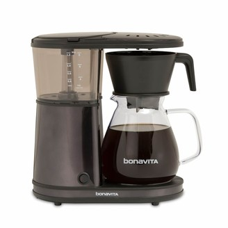 Bonavita 8-Cup One-Touch Black Stainless Steel Coffee Maker