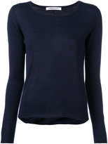 Lamberto Losani draped back jumper